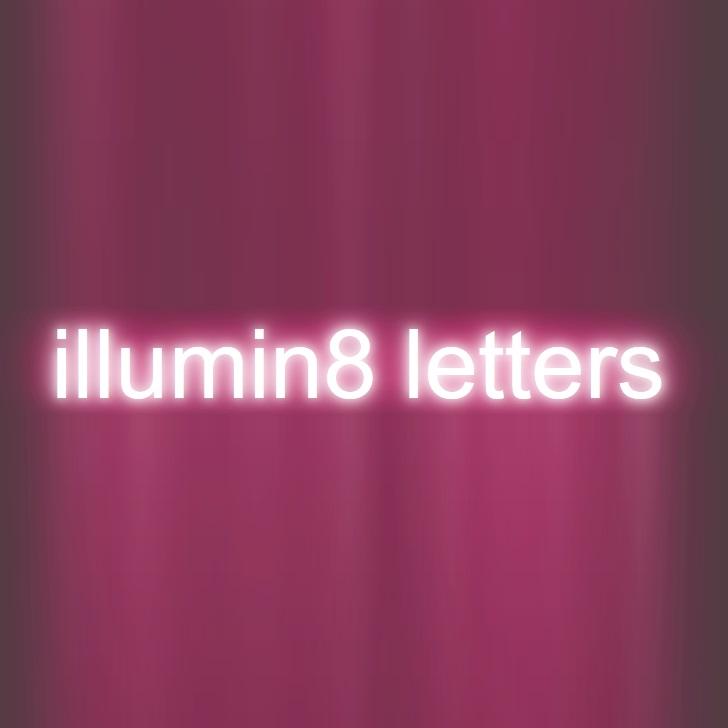 illumin8 letters